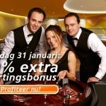 Mooie bonus ter ere van opening live casino
