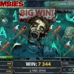 Free spins op nieuwe videoslot Zombies